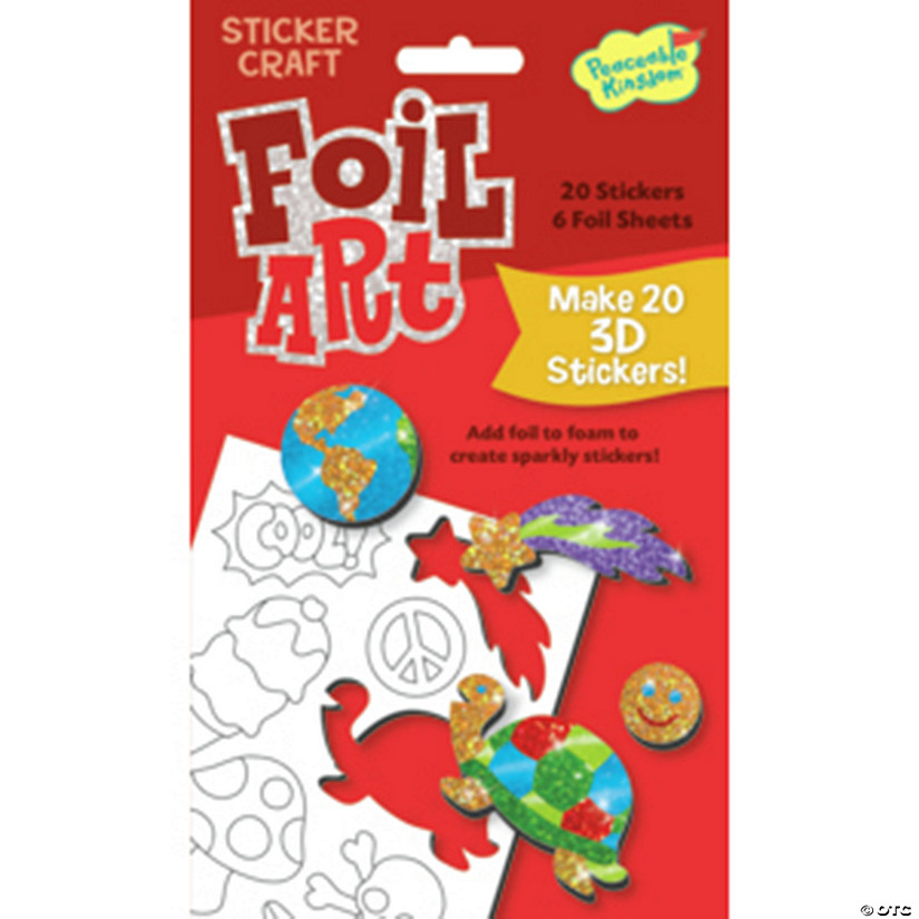 Fun Stuff Foil Art Sticker Pack