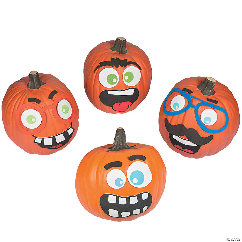 Funny Face Pumpkin Decorating Craft Kit Audio Thumbnail