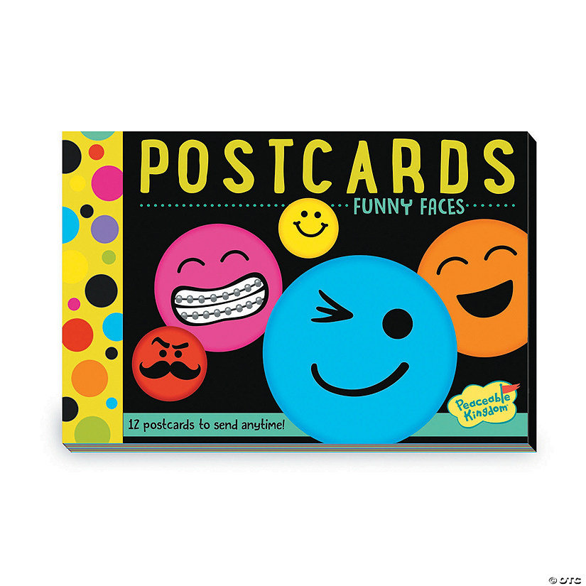 Funny Faces Postcards Image Thumbnail