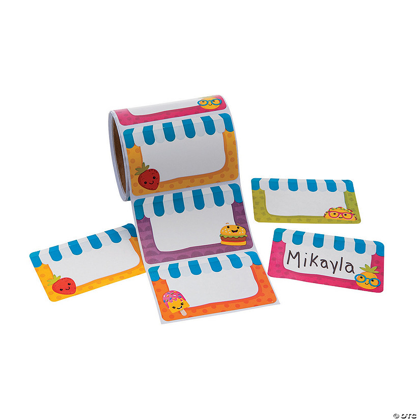 Funtastic Food Friends Classroom Name Tags/Labels