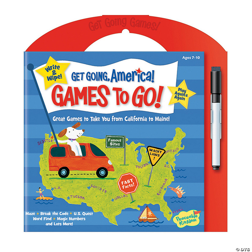 Games To Go: Get Going America