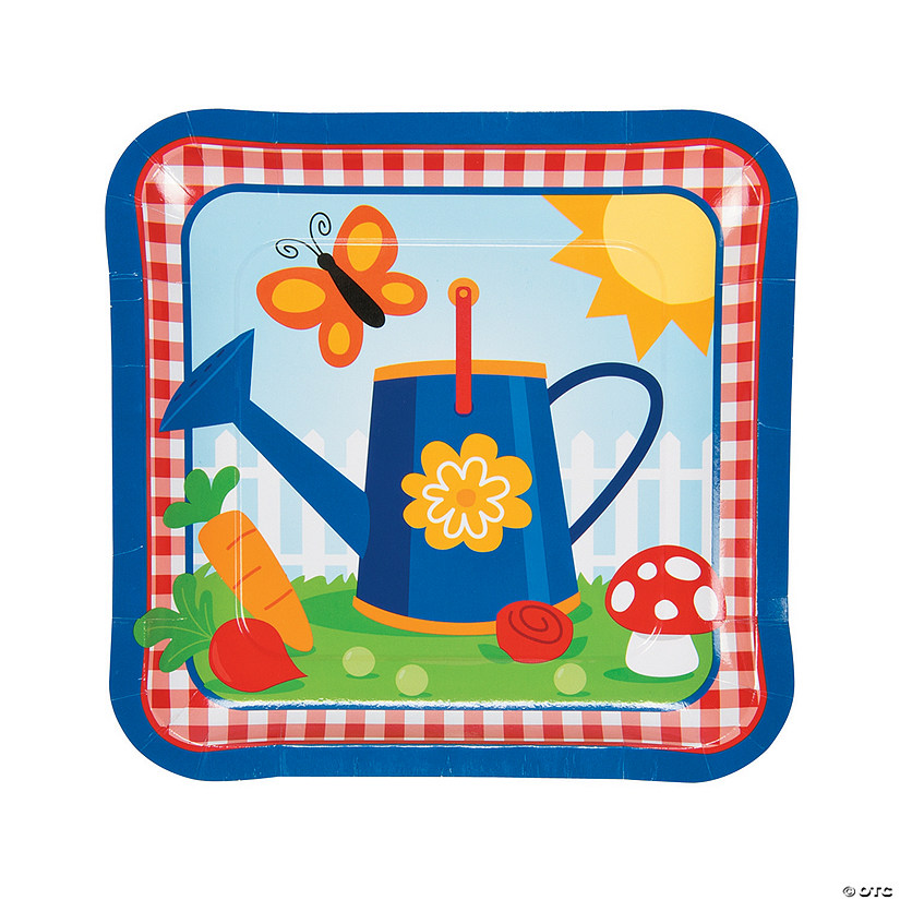 Garden Birthday Party  Paper Dinner Plates Audio Thumbnail