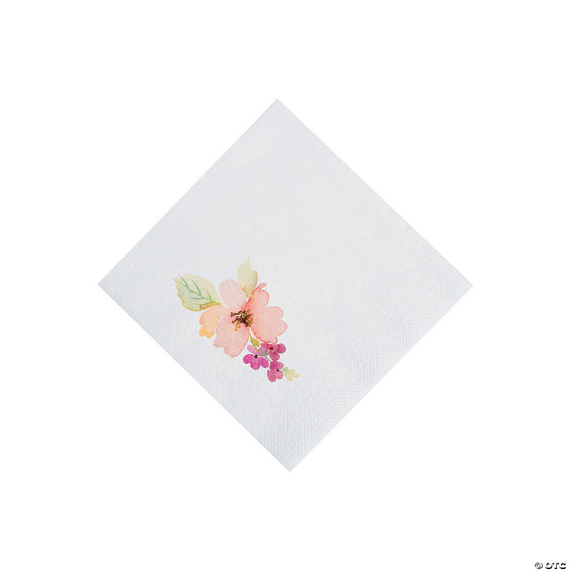 Garden Party Beverage Napkins Audio Thumbnail