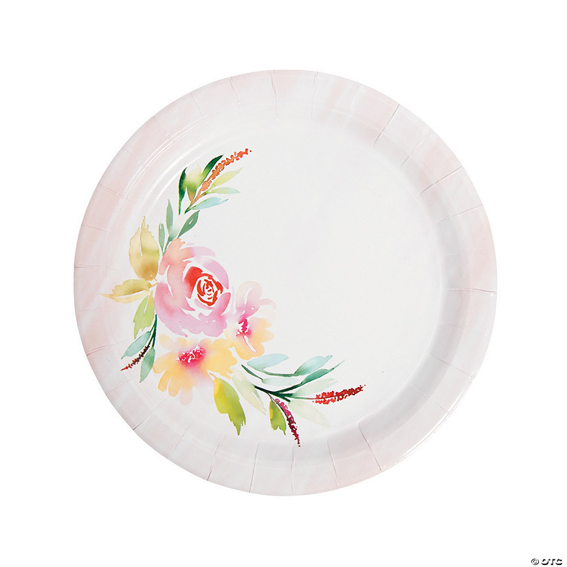 Garden Party Paper Dinner Plates Audio Thumbnail