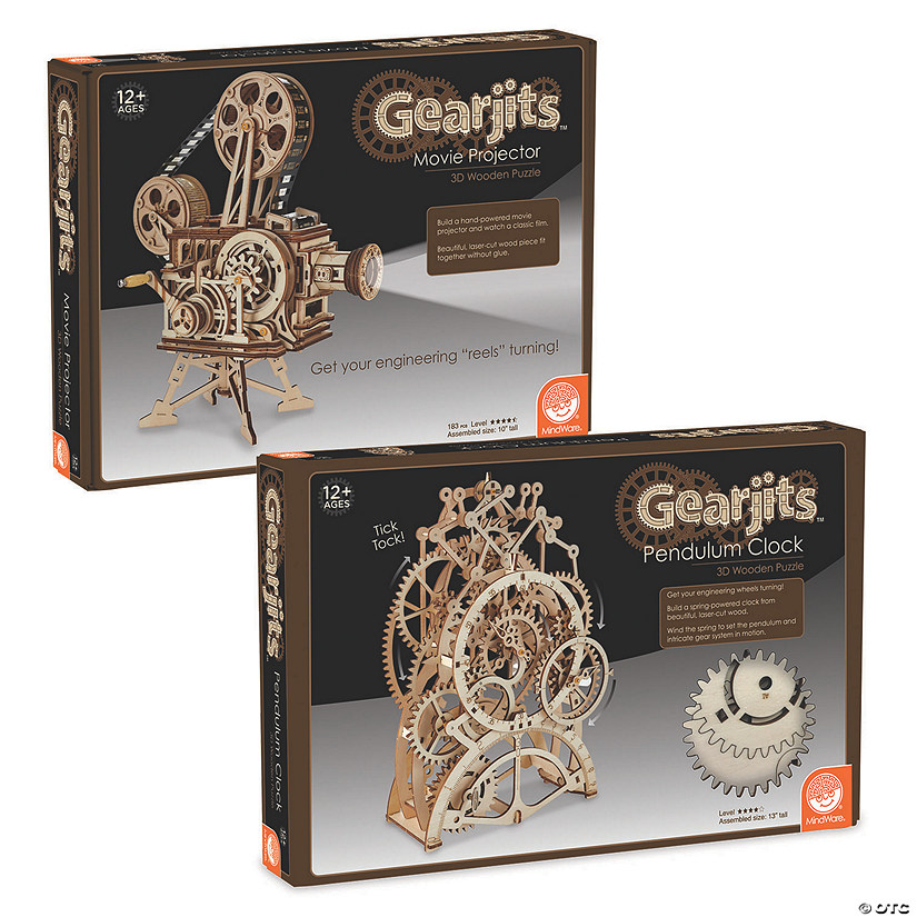 Gearjits: Video & Clock Set of 2