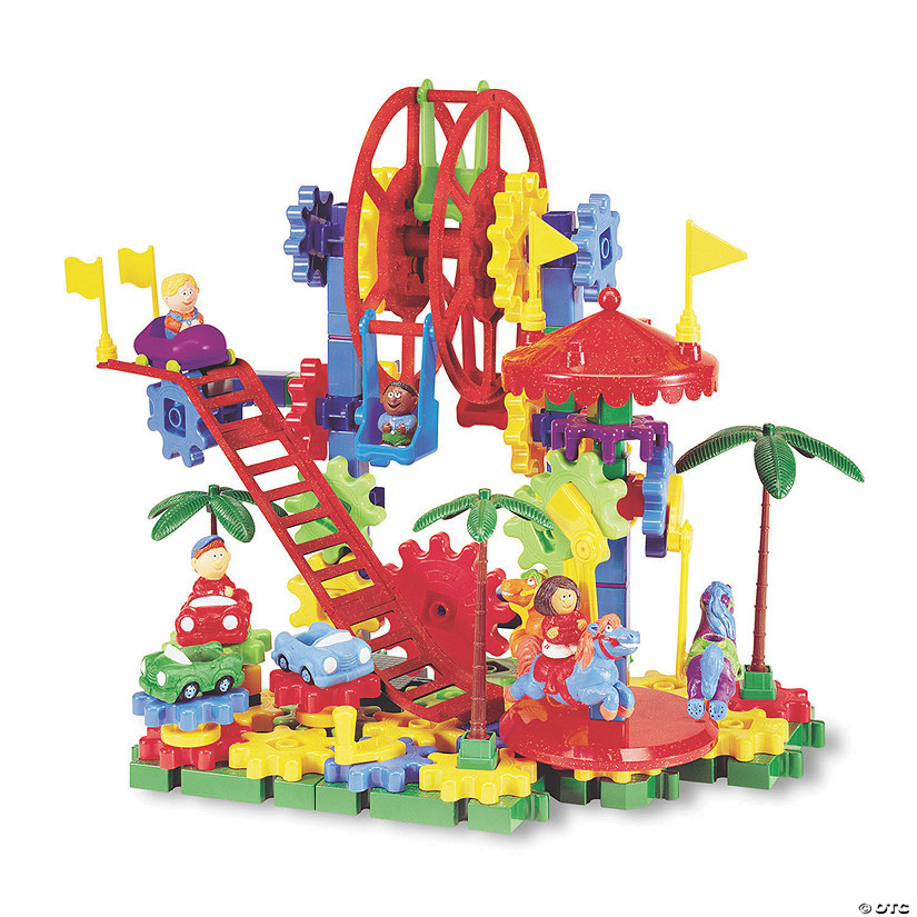 Gears! Dizzy Fun Land Motorized Building Set