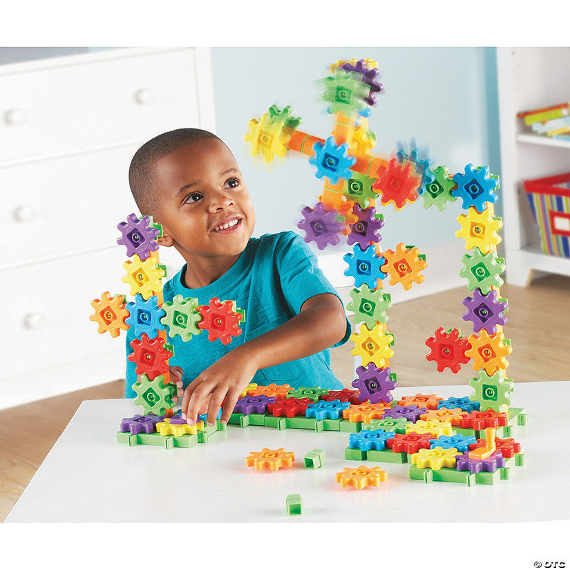 Gears! Gears! Gears! 150-Piece Super Building Set Image Thumbnail