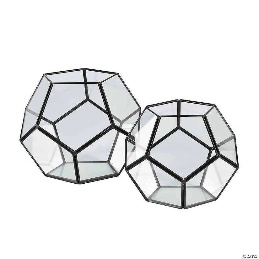 Geometric Terrarium Candle Holders