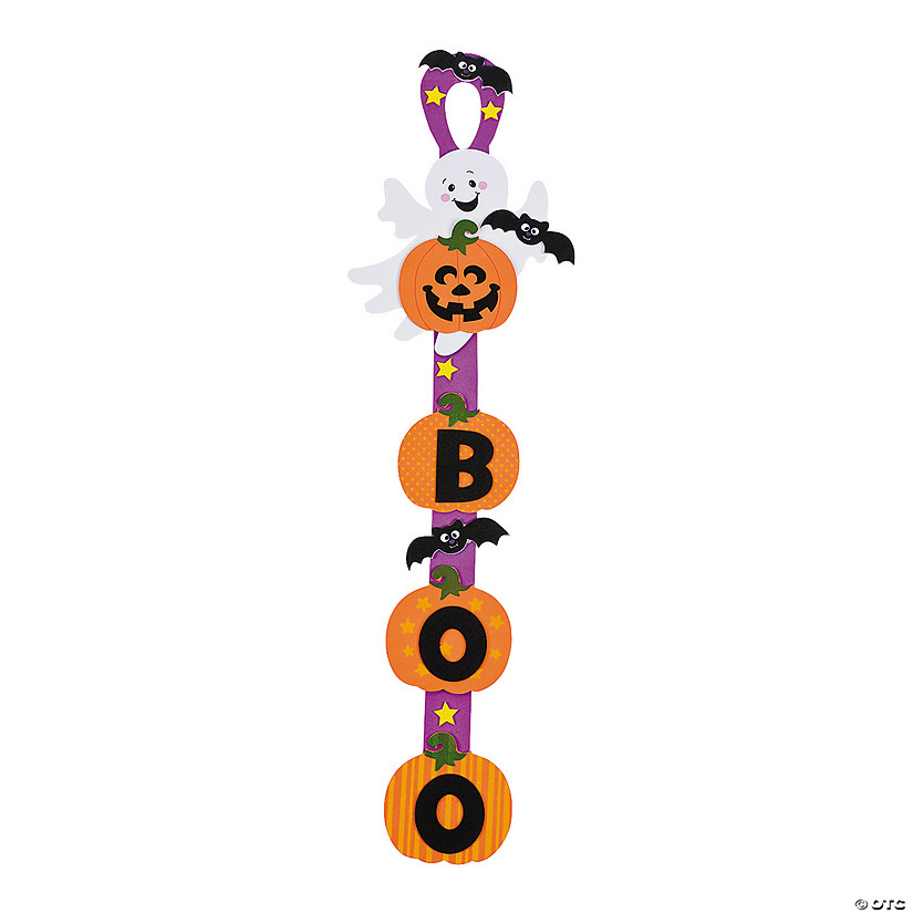 Ghost Door Hanger Craft Kit - Makes 12 Audio Thumbnail