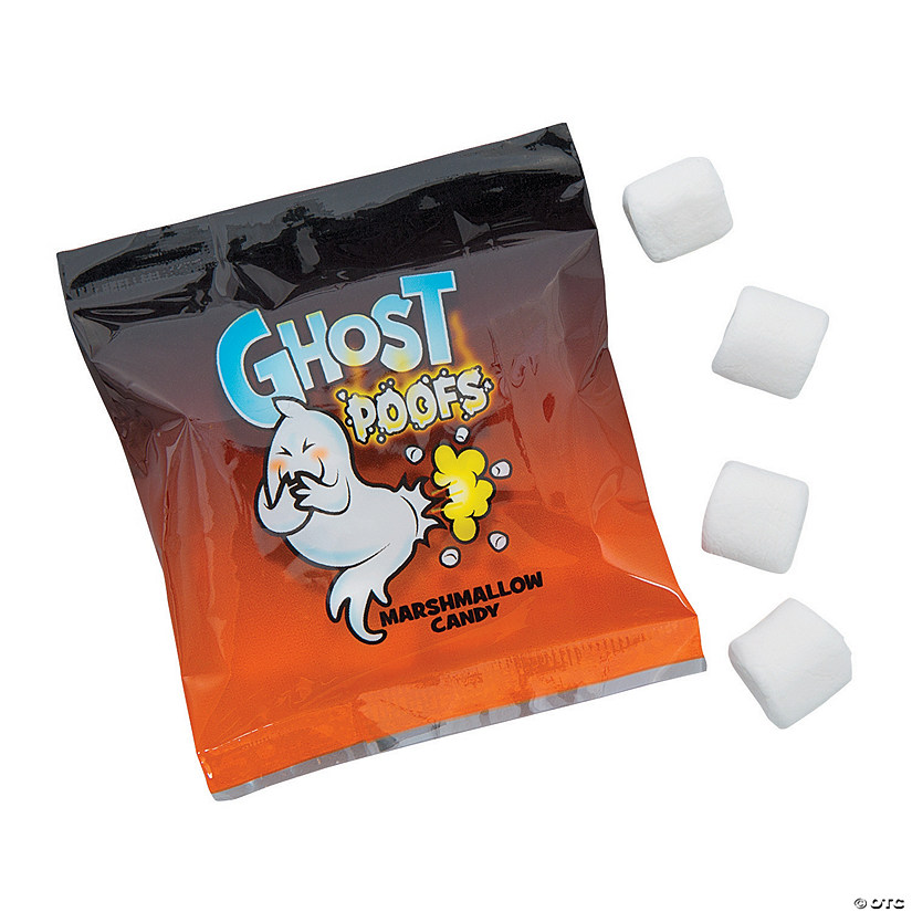 Ghost Poofs Marshmallow Treat Packs Image Thumbnail