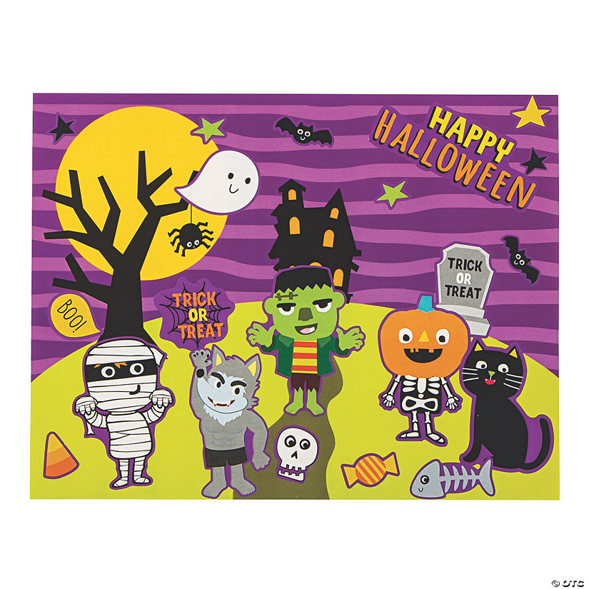 Ghoul Gang Sticker Scenes Image Thumbnail