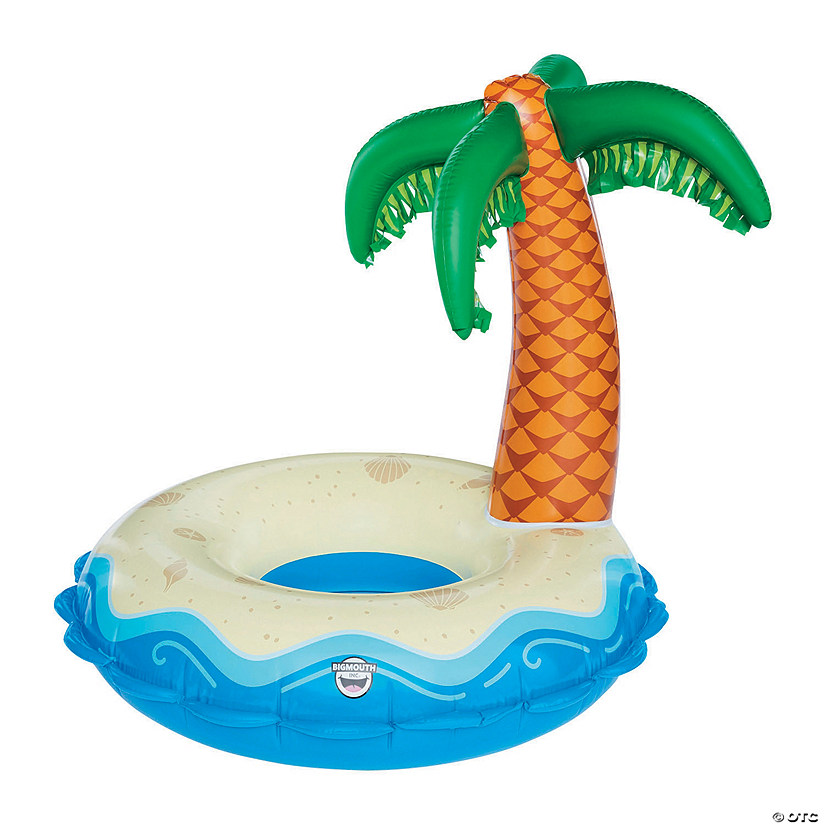 Giant Inflatable BigMouth<sup>&#174;</sup> Palm Tree Pool Float Audio Thumbnail
