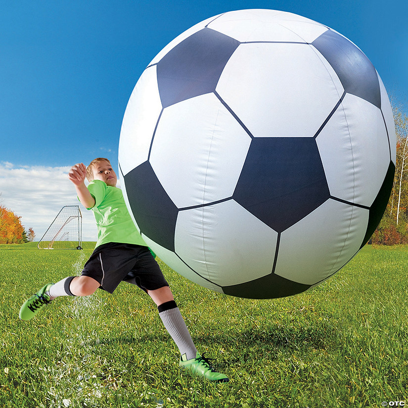 Giant Inflatable Soccer Ball Image Thumbnail