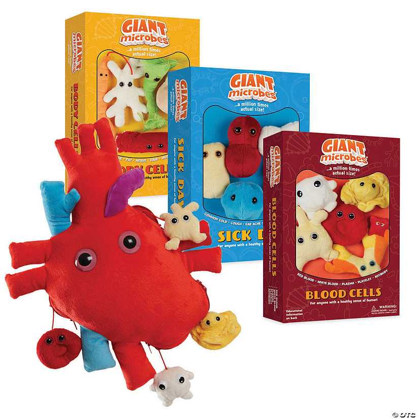 Giant Microbes Set of 4