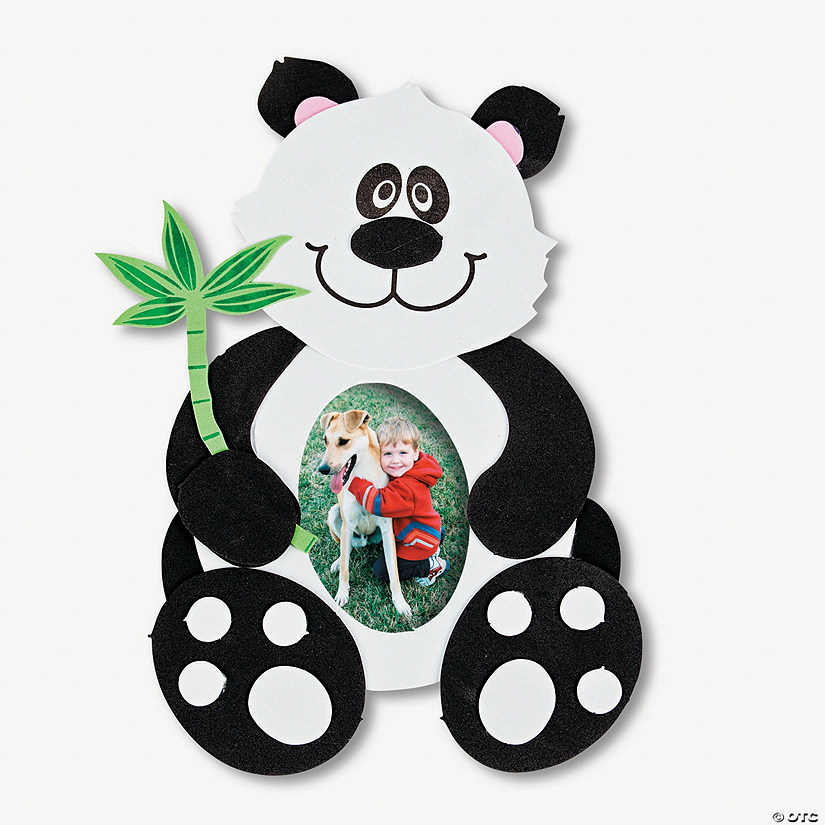 Giant Panda Picture Frame Magnet Craft Kit Discontinued
