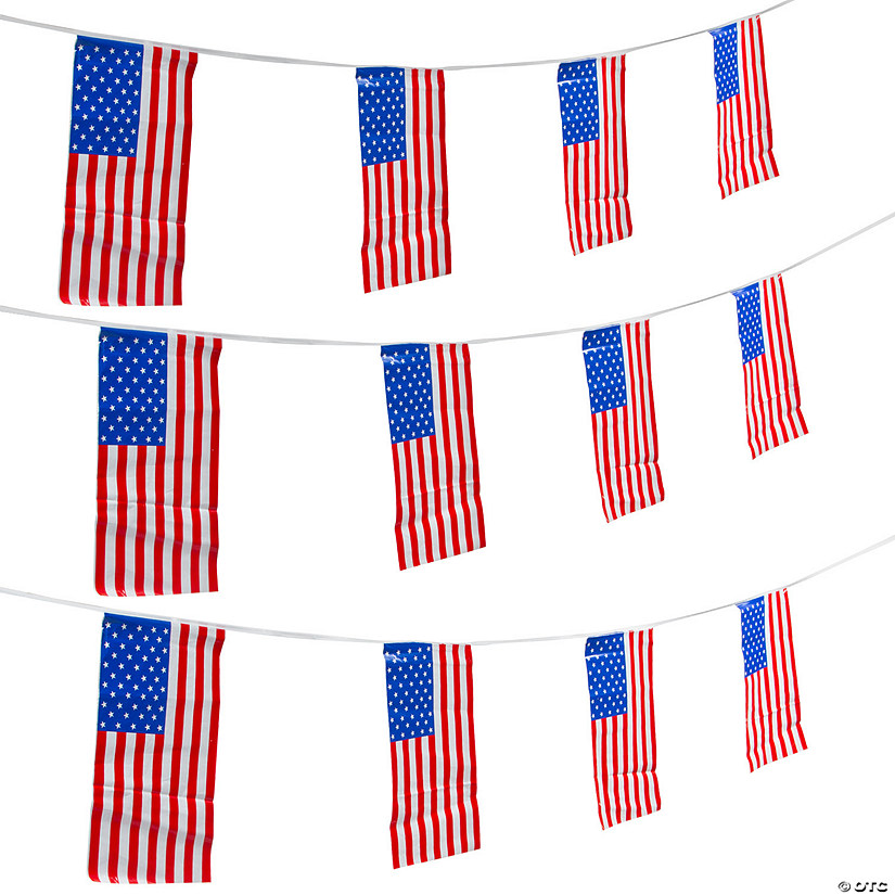Giant Patriotic Pennant Banner Audio Thumbnail
