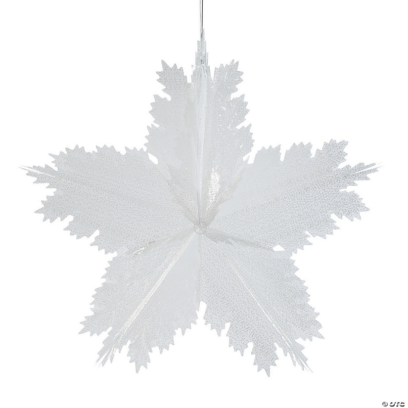 Giant Snowflake Decoration