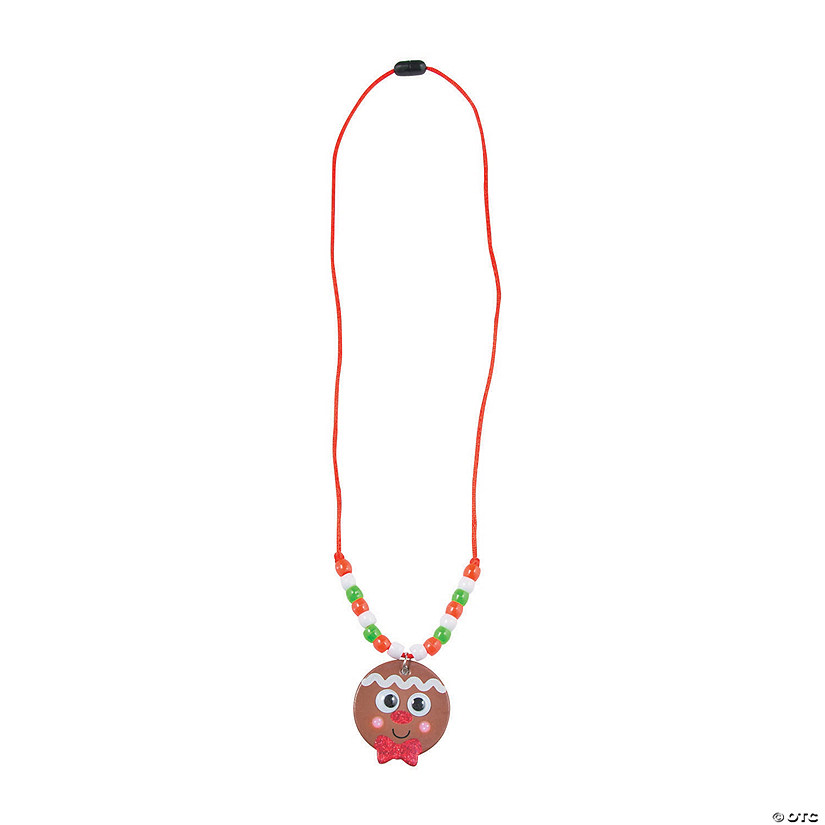 Gingerbread Beaded Necklace Craft Kit Audio Thumbnail