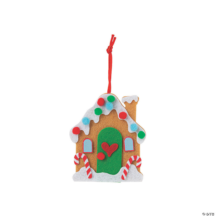 Gingerbread House Ornament Craft Kit Image Thumbnail