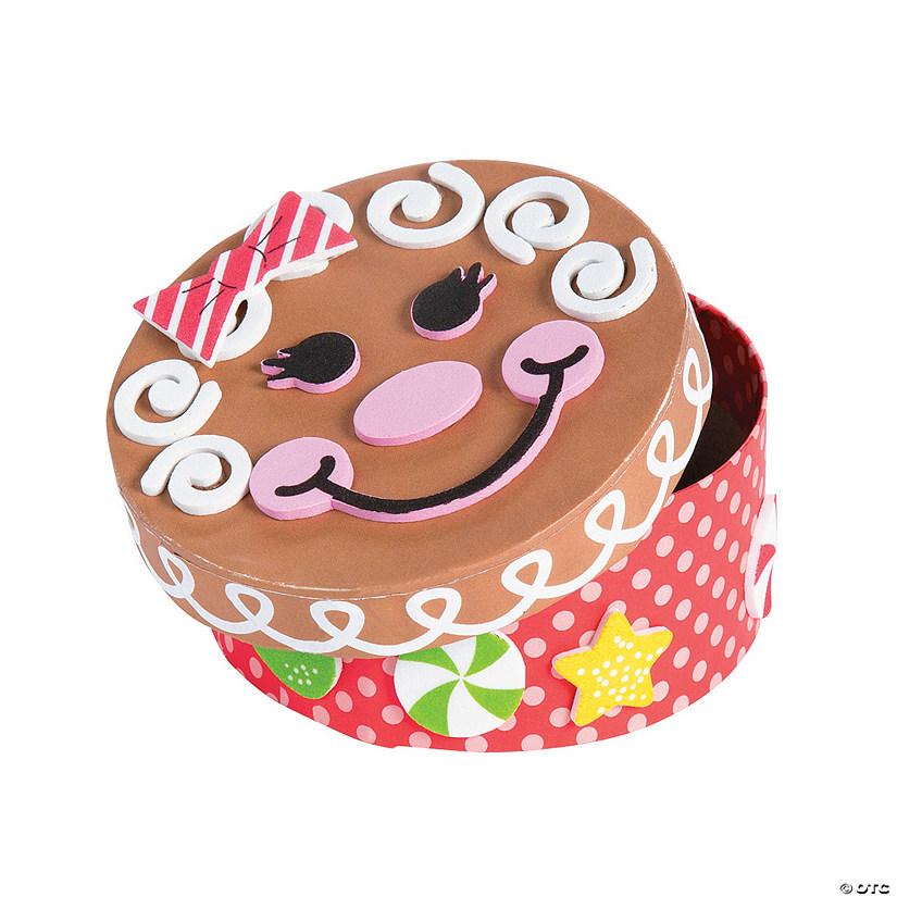 Gingerbread Memory Box Craft Kit Audio Thumbnail