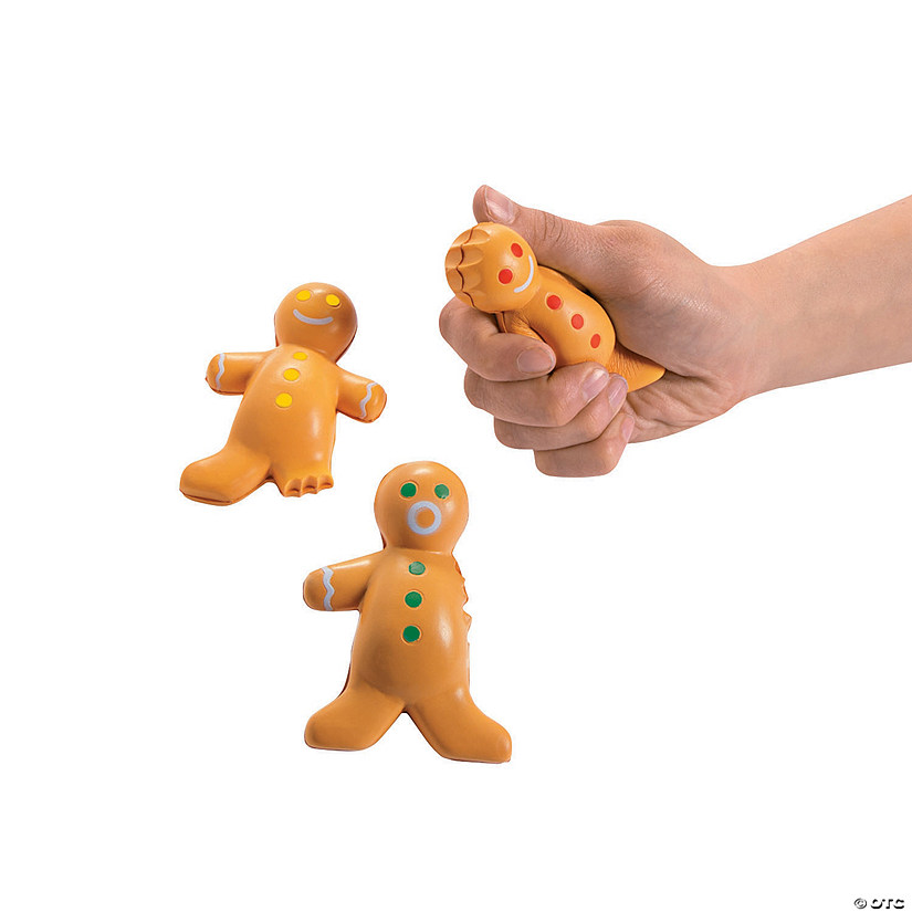 Gingerbread Stress Toys Audio Thumbnail