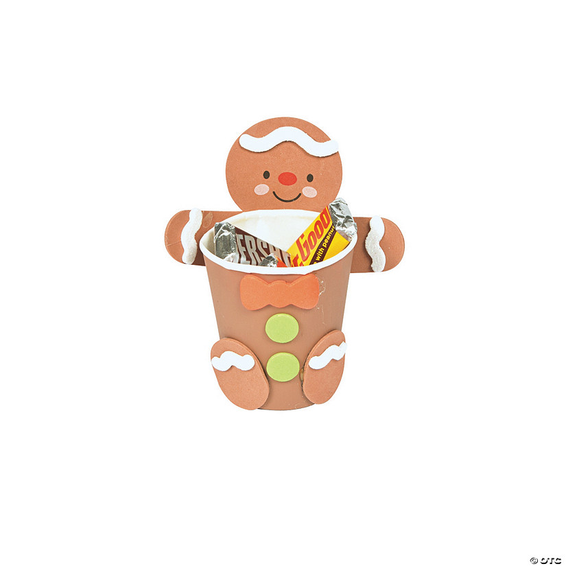 Gingerbread Treat Cup Hugger Craft Kit