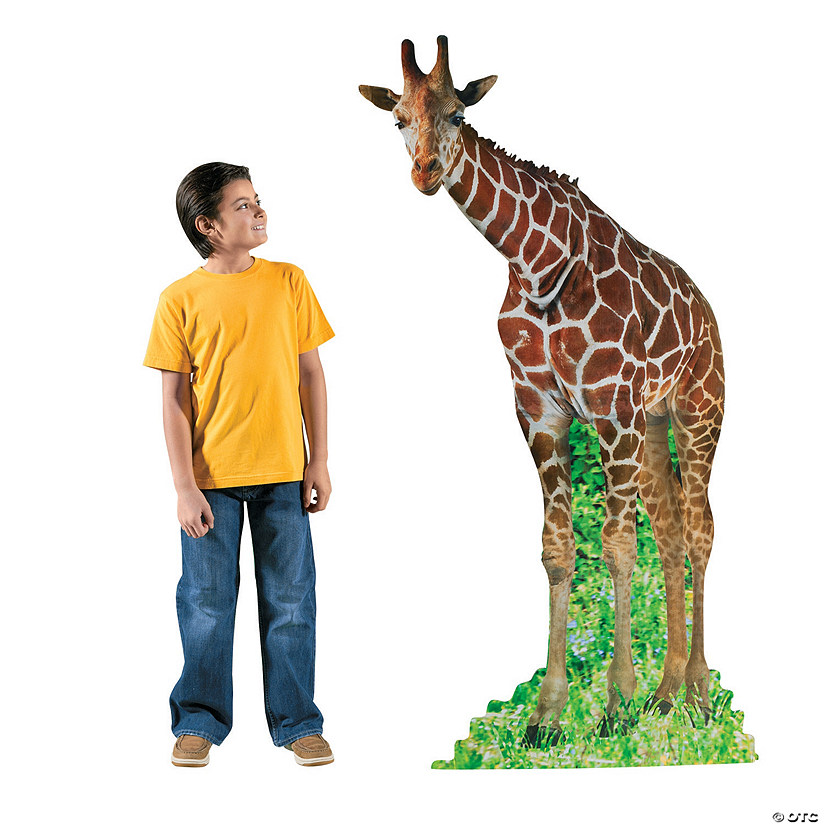 Giraffe Cardboard Stand-Up Audio Thumbnail