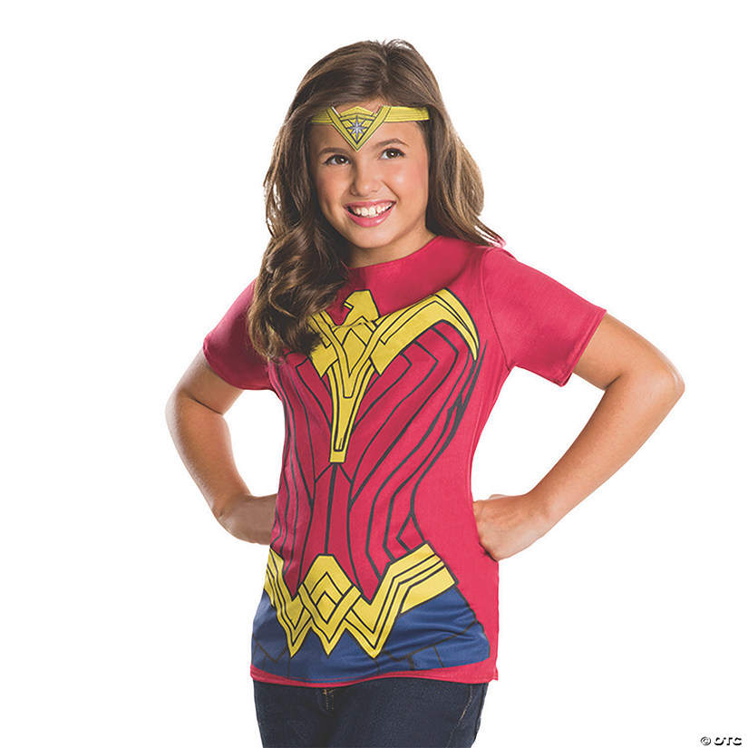 Girl's Batman v Superman: Dawn of Justice™ Wonder Woman Costume Top
