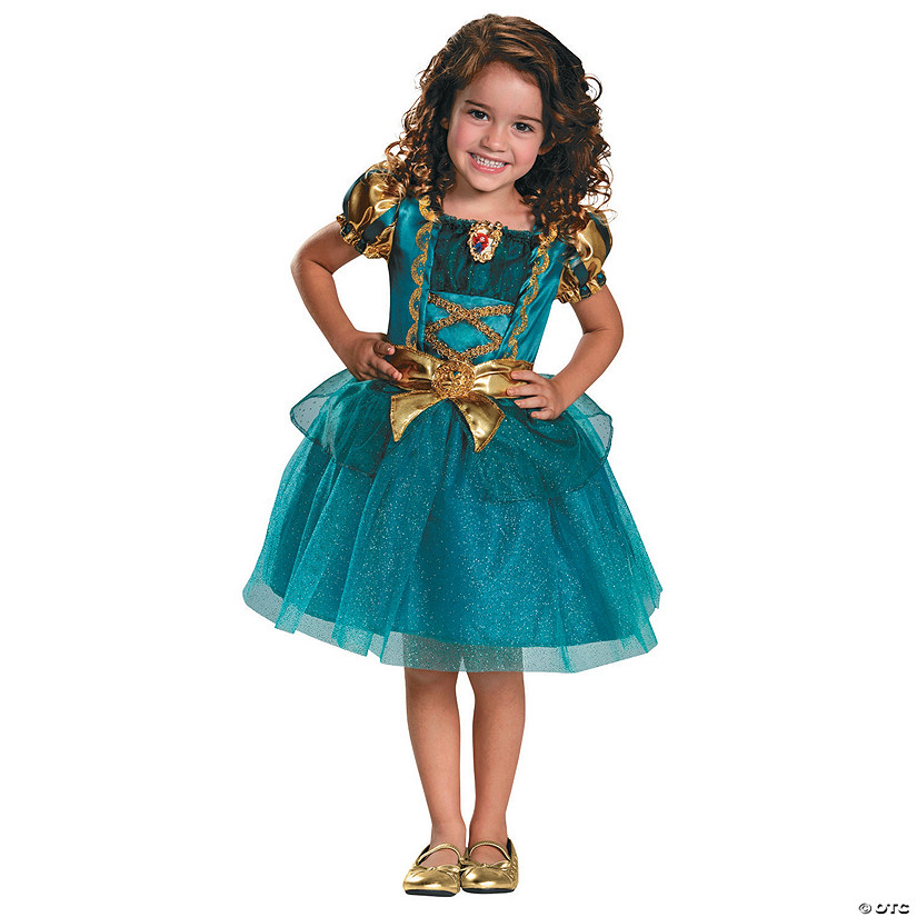 Girl's Classic Brave™ Merida Costume Audio Thumbnail