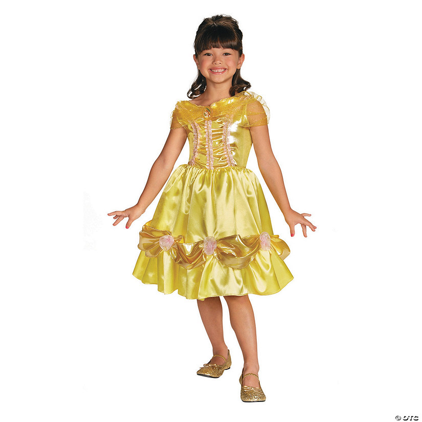 Girl's Classic Sparkle Disney Princess Beauty & the Beast™ Belle Costume