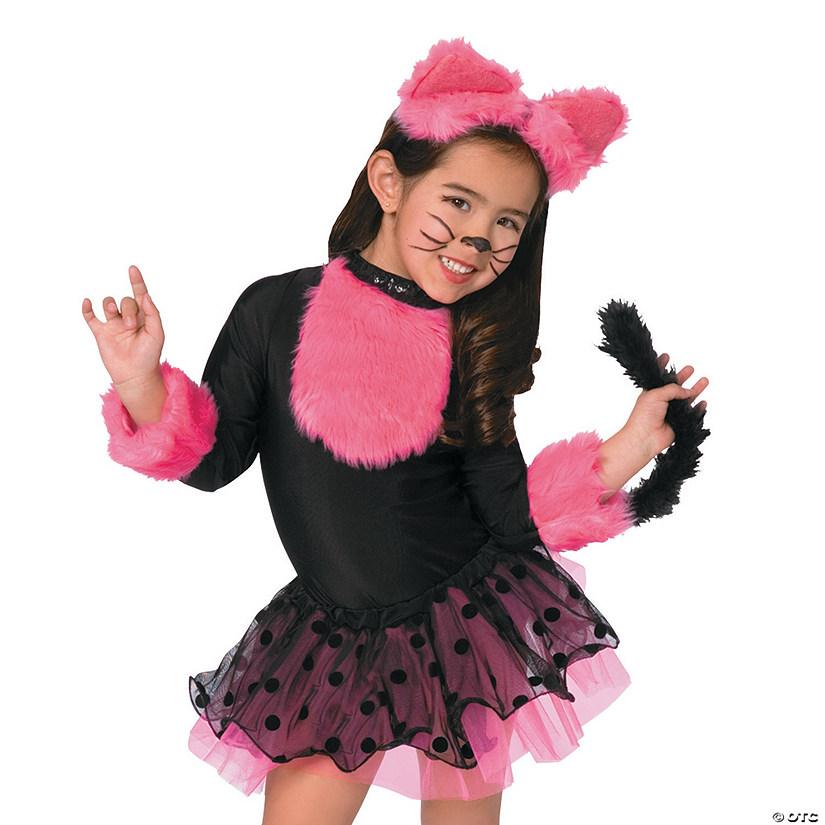 Girl's Cutie Cat Costume