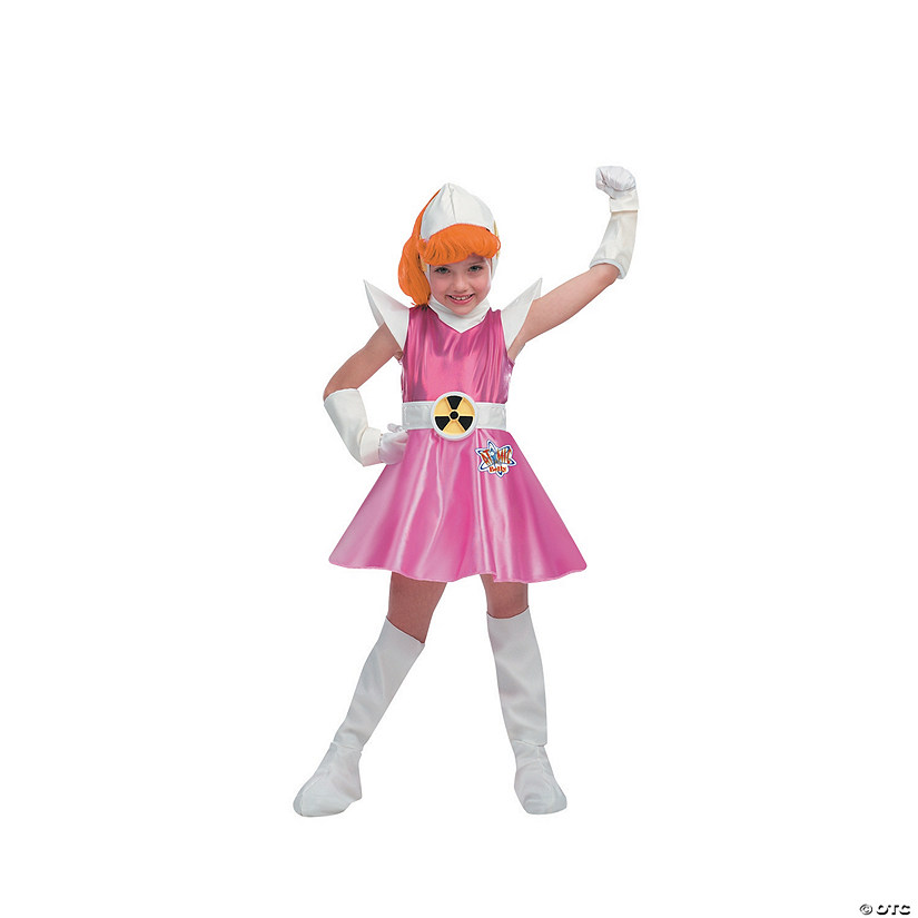 Girl's Deluxe Atomic Betty Costume