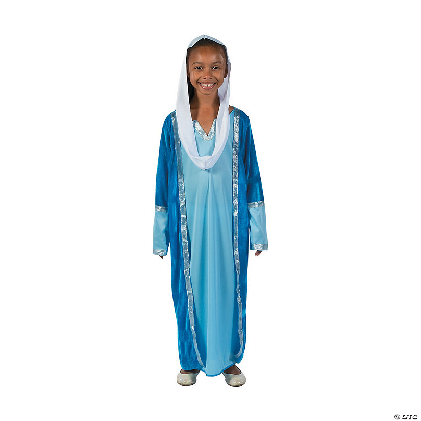 Girl's Deluxe Mary Costume Image Thumbnail