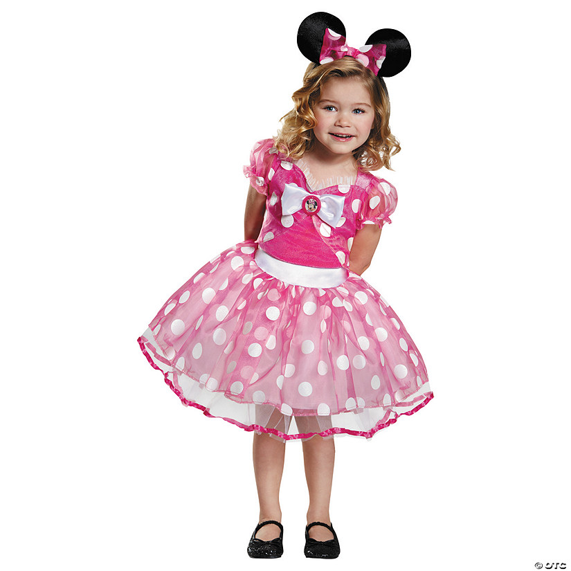 Girl's Deluxe Pink Minnie Mouse™ Tutu Costume
