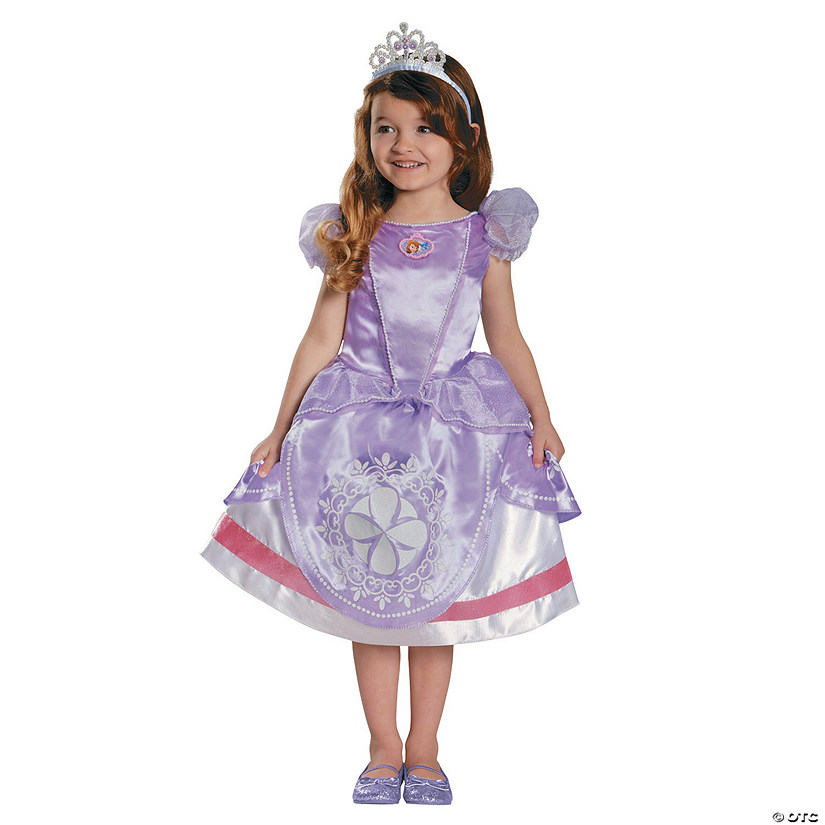 Girl's Deluxe Sofia the First™ Sofia Costume Audio Thumbnail