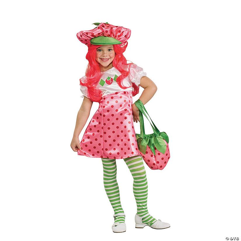 Girl S Deluxe Strawberry Shortcake Costume Oriental Trading