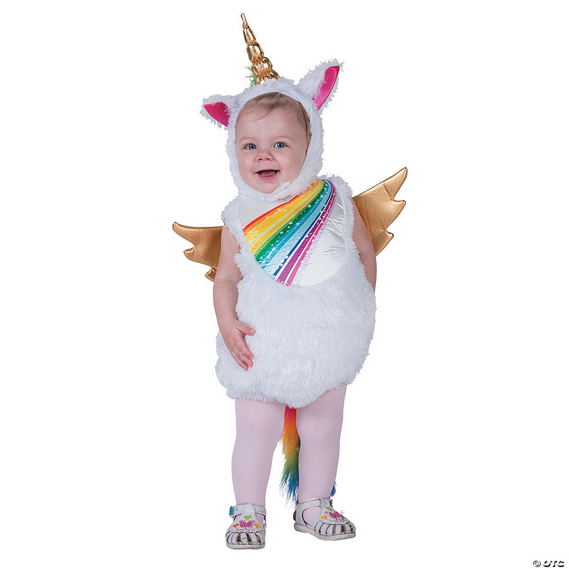 Girl's Deluxe Unicorn Costume Audio Thumbnail