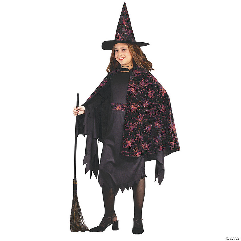Girl's Glitter Witch Costume