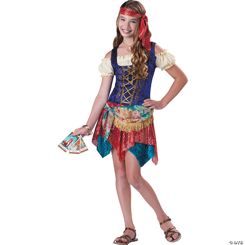 Girl's Gypsy Spell Costume