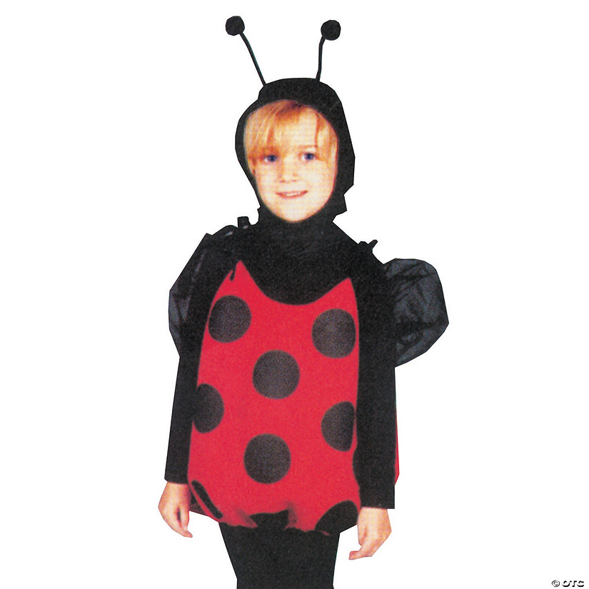 Girl's Lil Lady Bug Costume - Ages 2-6