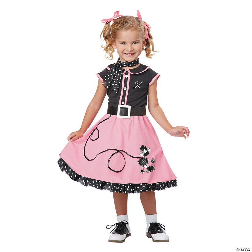 Girl's Poodle Cutie Costume - Small
