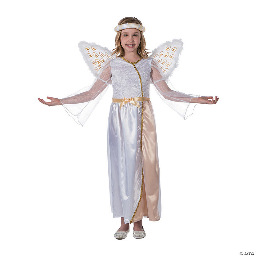 Girl's Premium Angel Costume Audio Thumbnail