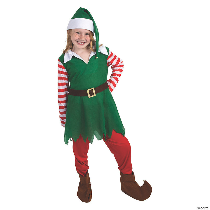 Girl's Santa's Helper Elf Costume Audio Thumbnail