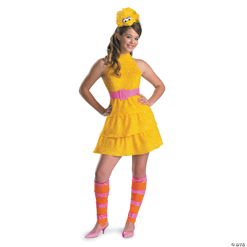 Girl's Sesame Street™ Big Bird Costume Audio Thumbnail