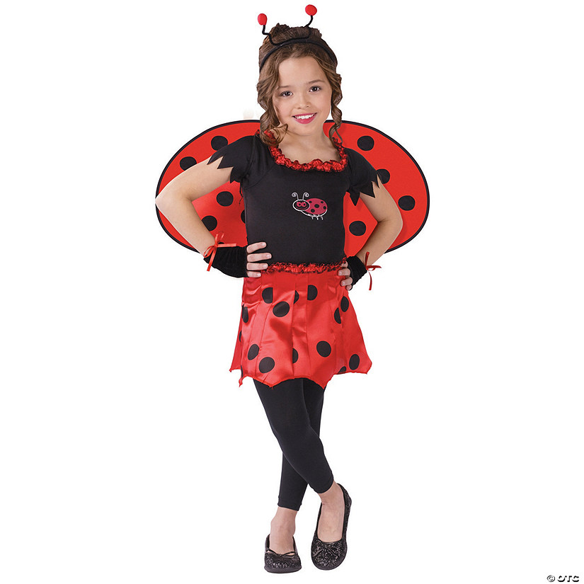 Girl's Sweetheart Lady Bug Costume Audio Thumbnail