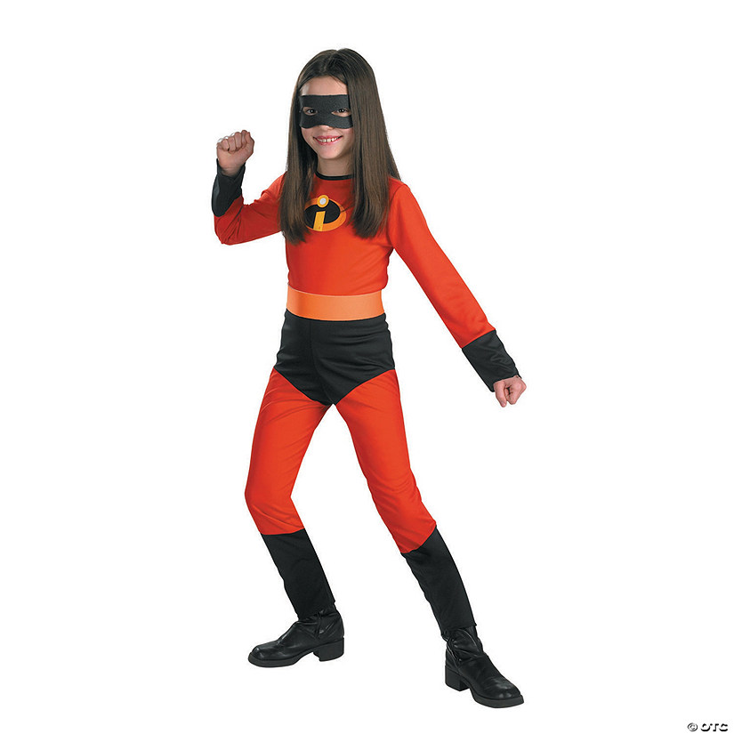 Girl's The Incredibles™ Violet Costume - Medium Audio Thumbnail