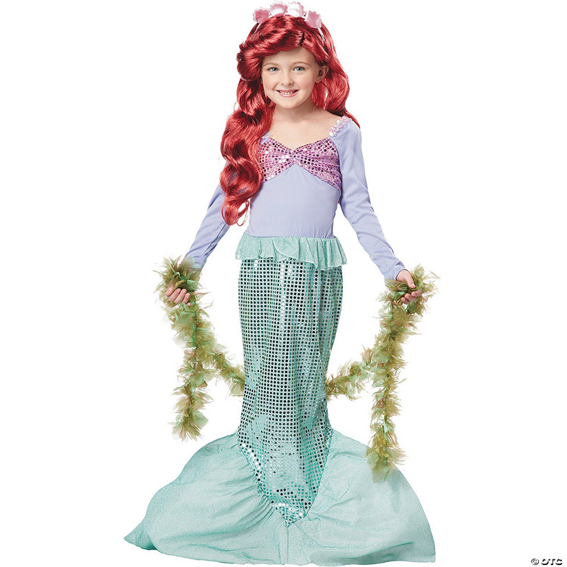 Girl's The Little Mermaid™ Ariel Costume Audio Thumbnail