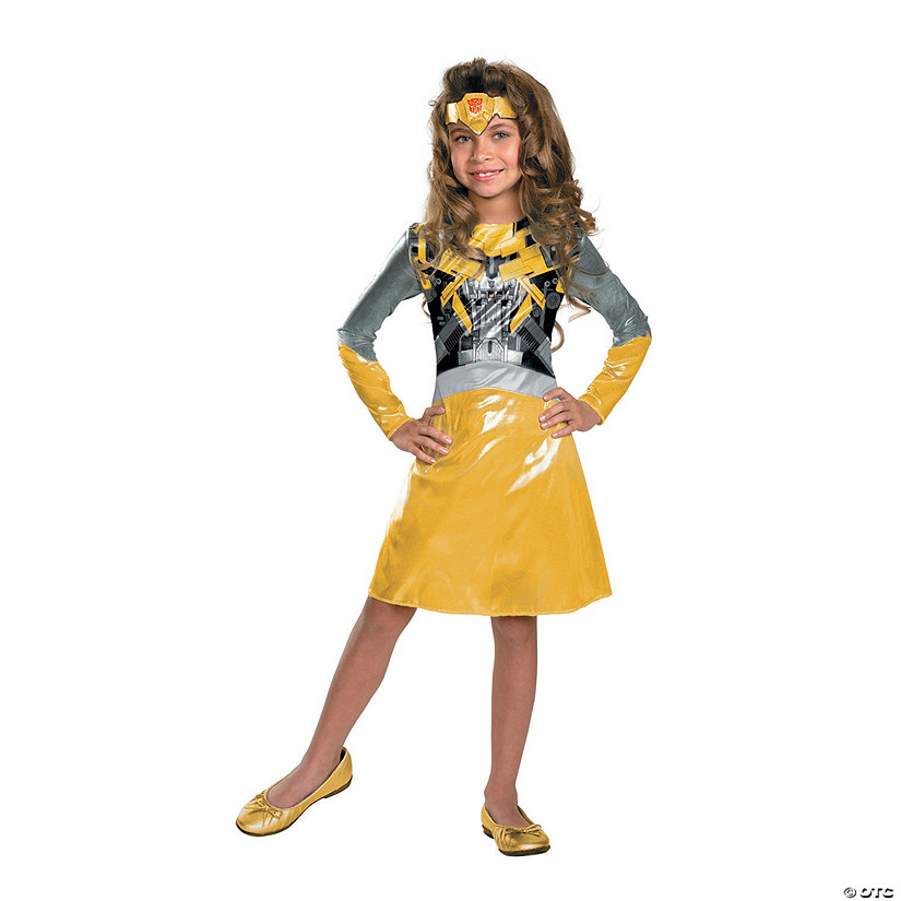 Girl's Transformers™ Bumblebee Costume
