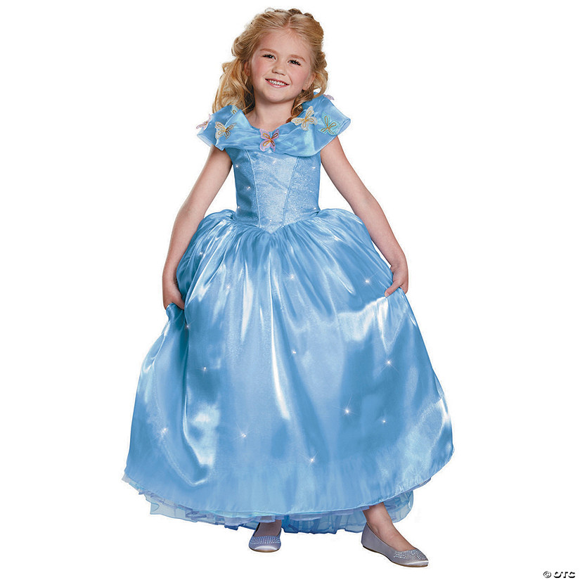 Girl's Ultra Prestige Cinderella Movie Halloween Costume Audio Thumbnail