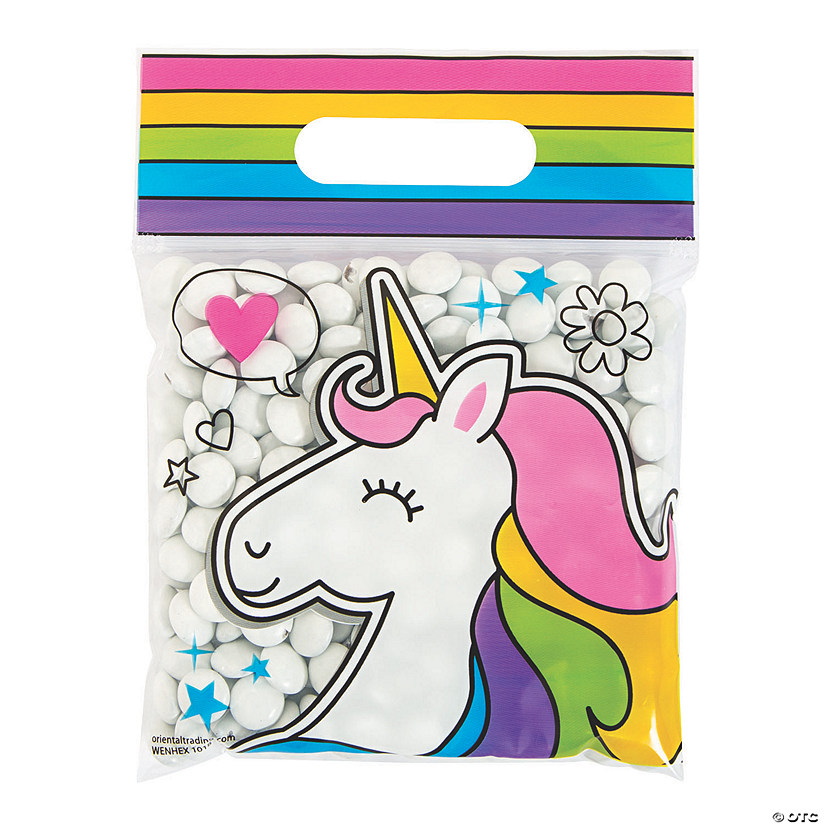 Girl Squad Unicorn Resealable Treat Bags Image Thumbnail